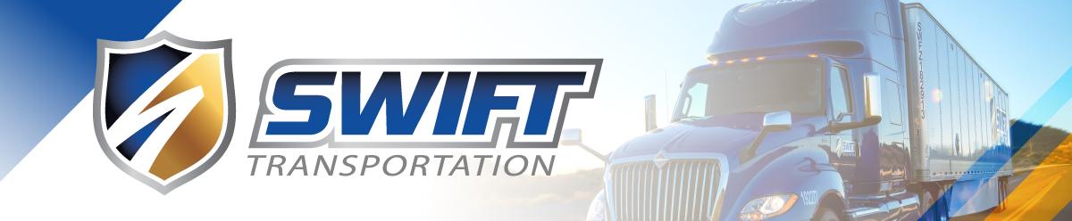 Company Branding Banner Swift Transportation