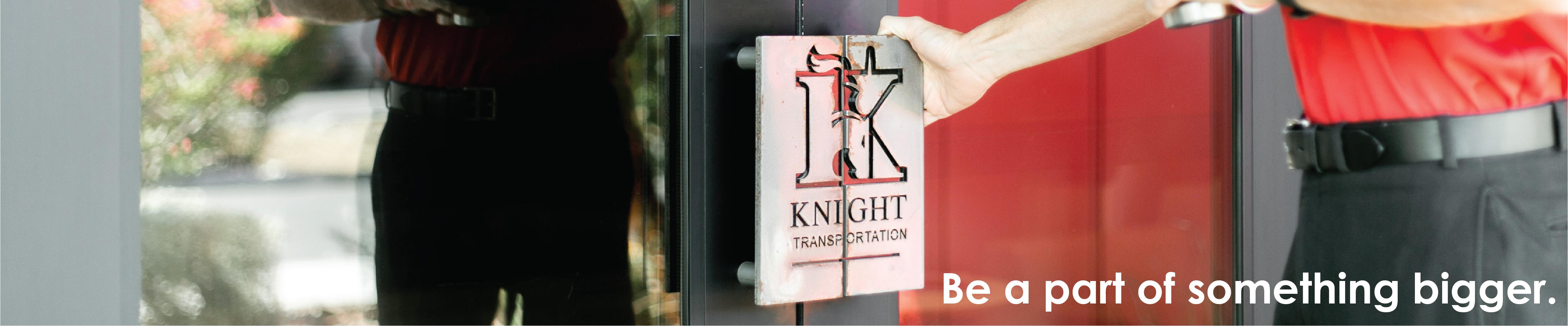 Company Branding Banner Knight Transportation