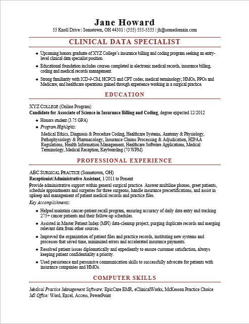28 data specialist resume clinical data specialist