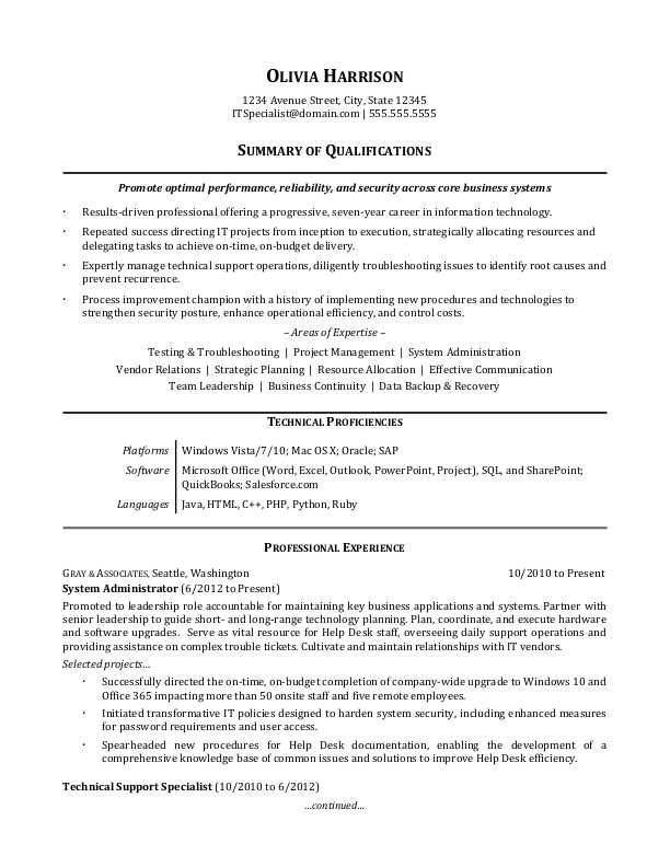 sample-resume-IT-generalist T Resume Format on resume help, resume layout, resume examples, resume cover, resume types, resume style, resume skills, resume categories, resume font, resume outline, resume objectives, resume for cna with experience, resume templates, resume form, resume design, resume mistakes, resume for high school student no experience, resume structure, resume builder, resume references,