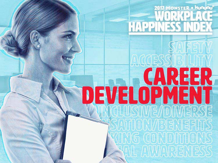 Top 10 companies for career development
