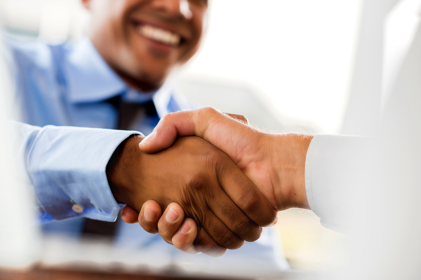 Nail the handshake, land the job