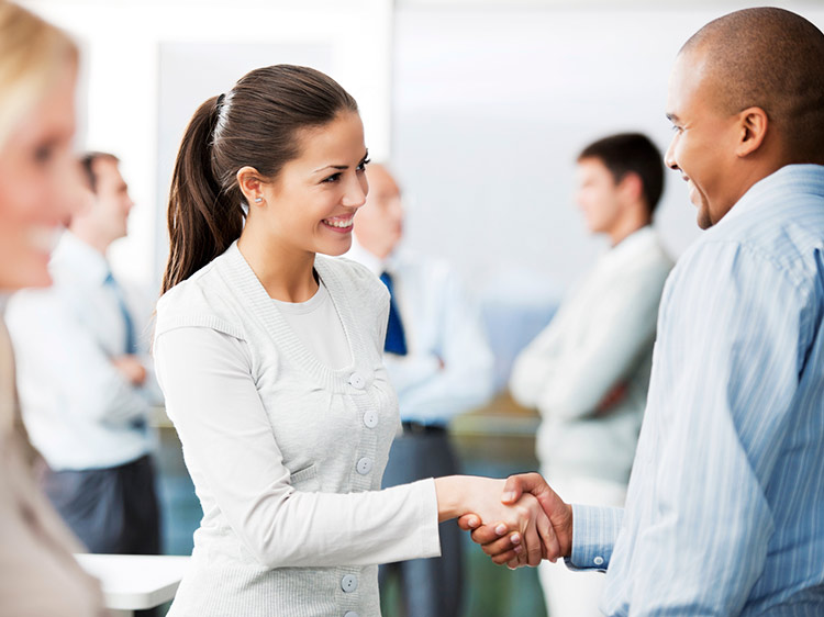 How to gracefully exit a networking conversation