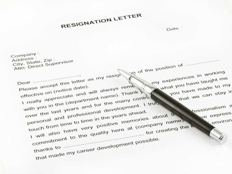 How To Write A Resignation Letter Monster Com