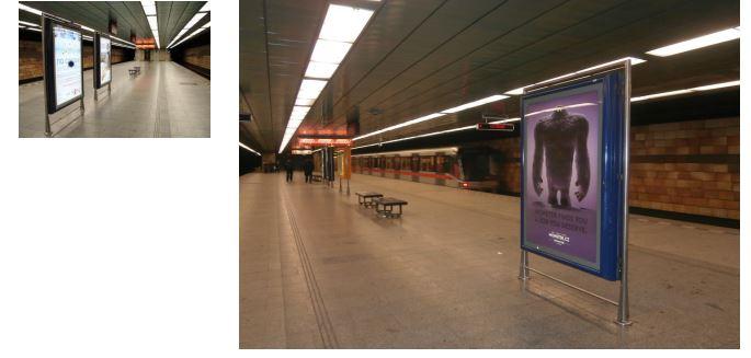 CLV na vybraných stanicích metra