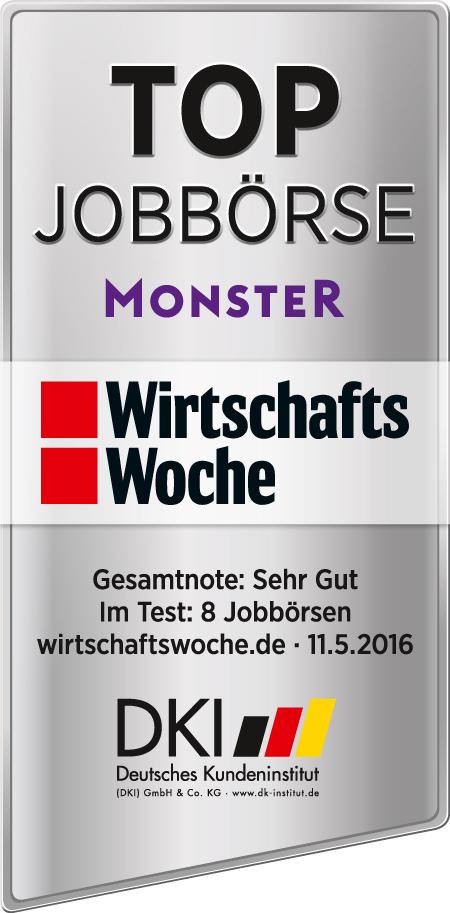 Monster ist zweiter beim Jobbörsenvoting