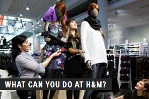 What can you do at H and M?