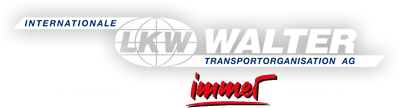 Logo: LKW WALTER Internationale Transportorganisation AG