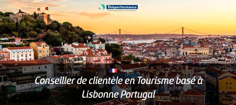 Conseiller de clientèle en Tourisme basé à Lisbonne, Portugal