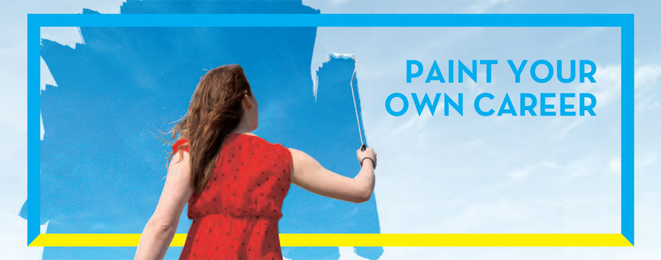 PAINT YOUR OWN CAREER