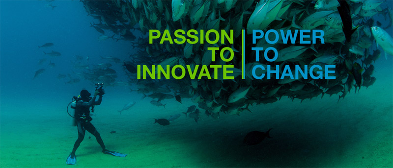 Passion to innovate, power to change.