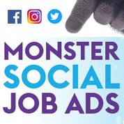 Recruter avec Monster et les réseaux sociaux