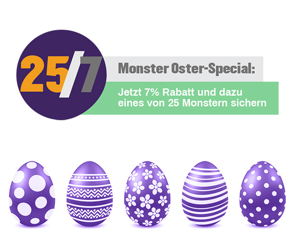 Monster Oster Angebot