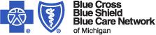 Company Logo Blue Cross Blue Shield of Michigan