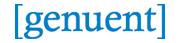 Company Logo Genuent