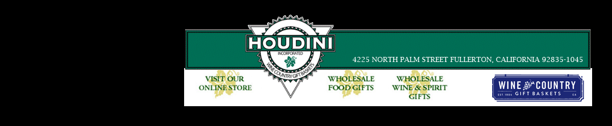 <p>Since 1984, Houdini Inc. has been the leading supplier of upscale food and wine gifts to re-seller's throughout the U.S. Our trend-right gift assortments are found at America's foremost warehouse clubs, mass merchandisers, liquor retailers, specialty stores, catalog companies and internet sites. </p>