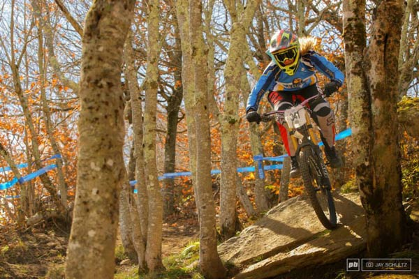 How I became a professional mountain biker
