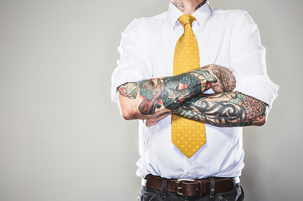 Should you cover up tattoos for a job interview?