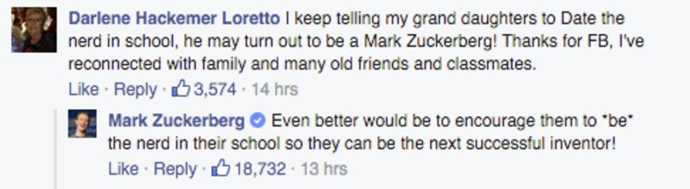 Mark Zuckerberg Urges Girls To Be The Nerd Not Date The Nerd Monster Com