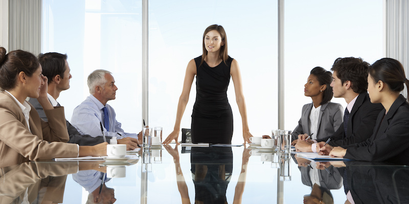 Women in Leadership Positions: Reaching the C-suite