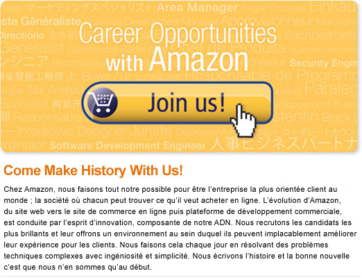 Join Us-Amazon